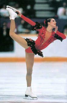katarina skater playboy figure Olympic witt
