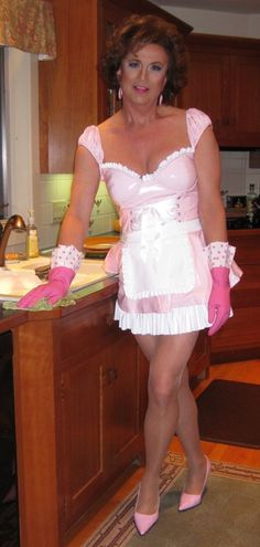Husband Panties Housework Maid Outfit Pic