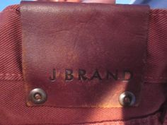 Leather Label, Back Patch, J Brand, Patches, Stickers, Wallet, Leather, Tags, Purses