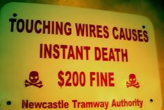 Funny Sign - Found On Internet - Don't worry about the fine...