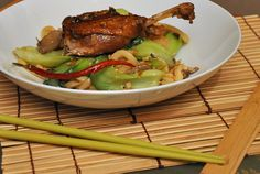 Crispy Duck with Udon Noodles -- something to try after accumulating these ingredients and some more skills.