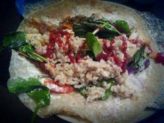 Gluten Free, Vegetarian Wrap!