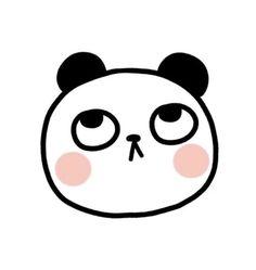Panda Panda Love, Cartoon, Drawings, Cute, Animals, Fictional Characters, Baby, Pandas, Pretty Quotes