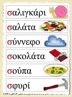 Learn Greek, Greek Language, Speech Therapy, Learning Activities, Literacy, Alphabet, Lettering, Education, School