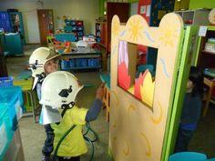 Unescoschool Sterrenbos Hamme - Thema: bij de brandweer