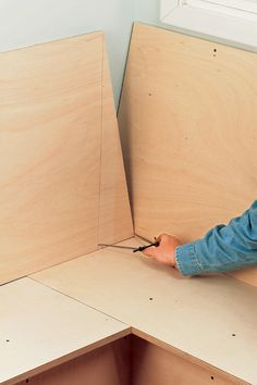 3 Simple Improvement Ideas For Your Kitchen Space – Home Dcorz Kitchen Booths, Kitchen Nook, Diy Kitchen, Kitchen Decor, Banquette Seating In Kitchen, Kitchen Benches, Banquettes, Bedroom Furniture Redo, Plywood Furniture