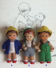 Petites poupées ARI. Boutique Nain.de.Jardin