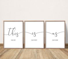 This Is Us Our Life Our Story Our Home Printable As You Like, This Is Us, Cool Walls, Our Life, Printing Services, Wall Design, Printables, Decorating Your Home, Prints
