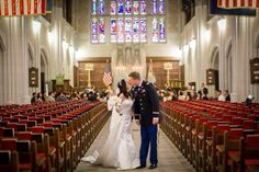 Wedding at West Point Academy in New York