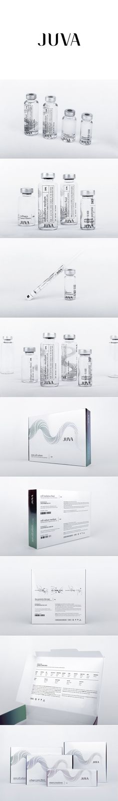 Juva. Impressive packaging design for a pharmaceutical brand. #Packaging #Design