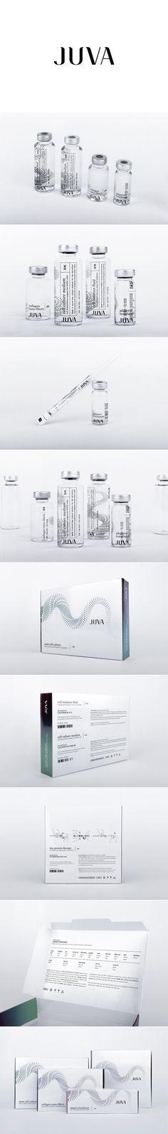Juva. Impressive packaging design for a pharmaceutical brand. #Packaging #Design