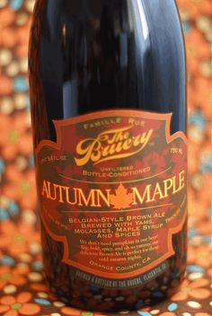 Autumn Maple Ale - Belgian-Style Brown Ale, brewed with yams, molasses, maple syrup and spices. Spirit Drink, Belgian Style, Thanksgiving Feast, Thanksgiving Blessings, Yams, Fall Harvest, Craft Beer, Spices, Pumpkin