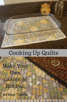 Quilting Tutorials, Quilting Projects, Sewing Tutorials, Sewing Patterns, Sewing Ideas, Apron Patterns, Quilt Patterns, Beginner Quilting, Stencil Patterns
