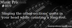 In Adrenaline Engines, I would never count the rest I would just hum the low brass part xDD