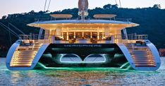 Launched in 2011 and built by Pendennis Shipyard , the 44m luxury yacht Hemisphere is one of the largest sailing catamarans in the worl...