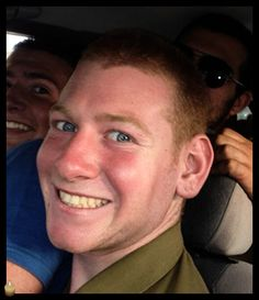 Staff Sergeant Guy Boyland, 21, from Ginosar, a combat engineer from the 7th Armored Brigade, killed in combat in the Gaza Strip. Praying for his family. May his memory be blessed.