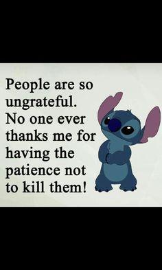 Funny True Quotes, Sarcastic Quotes, Jokes Quotes, Cute Jokes, Funny Disney Jokes, Funny Insults, Funny Texts, Lilo And Stitch Quotes, Lilo And Stitch Ohana