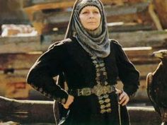 """ogniem i mieczem (""""by fire and sword""""). Polish noble woman from  Polish mini-series. 17th  century"""