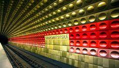 Staromestská Subway Station, Prague