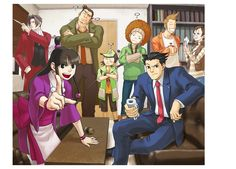 Phoenix Wright : Ace Attorney - Nintendo Wii. Edgeworth just looking out the window... :D