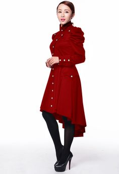Victorian Trench by -Amber Middaugh 2015 Standard Size $95.95 Plus Size $109.95