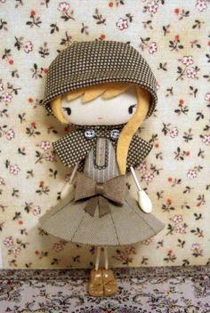 Las Hermosas muñecas de Sago ,las hace tambien personalizadas, bellas realmente.