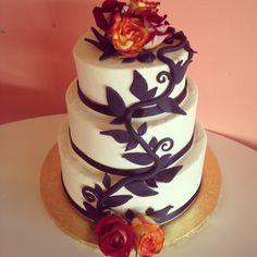 Wedding Cake by 2tarts Bakery  New Braunfels, TX  www.2tarts.com