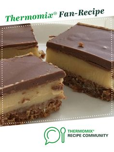 Scrumptious Caramel Slice by kritchie. A Thermomix <sup>®</sup> recipe in the category Baking - sweet on www.recipecommunity.com.au, the Thermomix <sup>®</sup> Community.