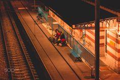 Railstation - Departure.