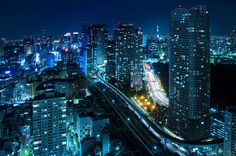 """dreams-of-japan: """" LIFE BEGINS AT NIGHT by ajpscs on Flickr. """""""