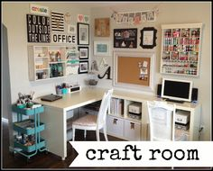 home happy home: Craft Room Tour