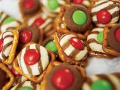 Salty pretzels combine with sweet chocolate for these fun treats that make a yummy gift few can resist. (In fact, you may want to make some extras for yourself!)