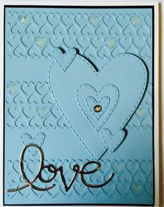 """Card created for June """"mail call"""" with Kristina Werner."""