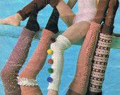 5  Skinny Ties -  #Knitting and #Crochet Pattern Mens Tie PDF #Vintage #1960s (T185) Treasury Item. 3.20, via Etsy.