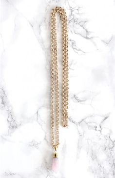 Frankly My Dear Shelly Necklace Rose | Beginning Boutique shop new @ www.bb.com.au/new