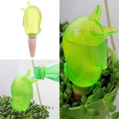Cute Lovely Birds Shape Indoor Automatic Drip Watering System Houseplant Waterer