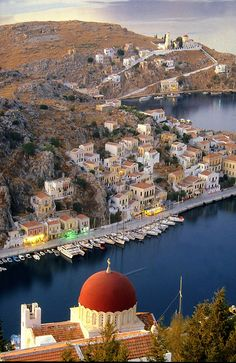 Greece Travel Inspiration - Beaches are just the beginning ~ venture beyond to discover scenic landscape and vistas like this. in Symi Island, Greece Paros, Beautiful Islands, Beautiful Places, Places To Travel, Places To See, Travel Destinations, Places Around The World, Around The Worlds, Myconos