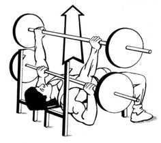 BenchPress tutorial...    Step One:  Lift the weight in an upward pressing motion away from your body.    Step Two:  Do not let it crush your chest on the way down!