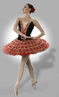 Columbia City Ballet soloist Claire Kallimanis in costume by Much Ado About A Tutu