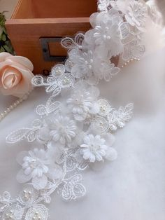 Beaded Wedding Gowns, Wedding Veil, Lace Weddings, Wedding Dresses, Bridal Lace Fabric, Beaded Lace, Lace Applique, Tulle, Ivory