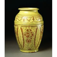 Vase  Date: ca. 1901 (made)  Place: Wrecclesham  Artist/maker: Gellatly, William