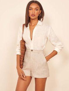 Mode Outfits, Short Outfits, Boho Fashion, Fashion Outfits, Womens Fashion, Fashion Ideas, Spring Summer Fashion, Spring Outfits, Beach Outfits