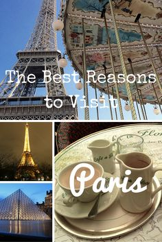 Personally I never need a reason to visit Paris, but if you do, my blogger friends explain their reason for visiting one of the most beautiful cities in the world