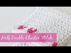 Crochet Kit Feb 2019 - Half Double Cluster Stitch - YouTube Knitting Yarn, Crochet Hats, Kit, Stitch, Youtube, Dots, Tejidos, Knitting Hats, Full Stop