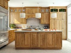 50 Best Hickory Cabinets Images In 2017 Decorating Kitchen