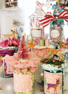 A Fanciful Twist. Winter Jars. I love love love her!
