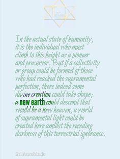 Sri Aurobindo Spiritual Enlightenment, Spirituality, Sri Aurobindo, Soul Connection, New Earth, Celebration Quotes, Mind Body Soul, Religious Quotes, Holistic Healing