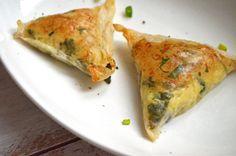 Gluten-free Vegan Samosa, Two Ways
