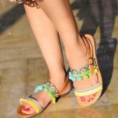 Belize sandals in Dubai by Archana
