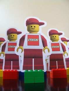 LEGO PARTY INVITE FRONT